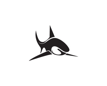 Shark fish animals logo symbols vector 矢量图像