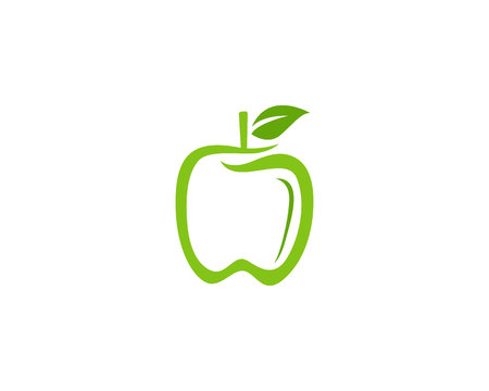 Apple icons vector illustration
