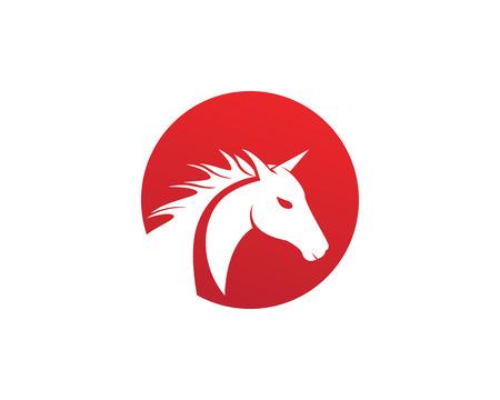 Horse Logo Template Vector 向量圖像