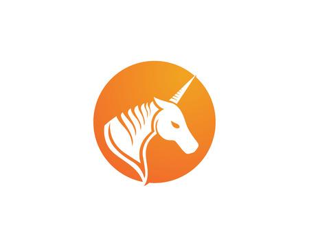 Vecteur de modèle de logo de cheval Logo