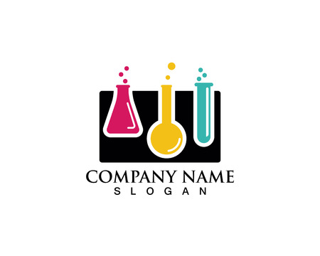 Laboratoire de logo et symboles vectoriels