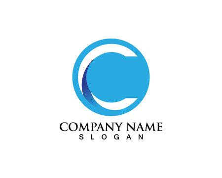 C logo and symbols  イラスト・ベクター素材