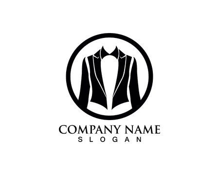 Tuxedo logo and symbols black icons template