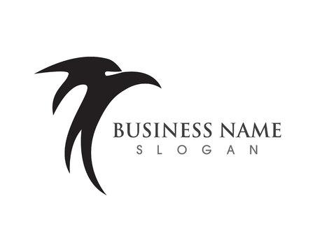 Eagle wing falcon logo and symbols Stockfoto - 106133685