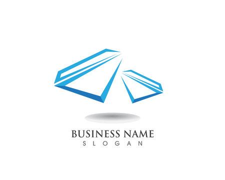 Diamond logo and symbol vector template icon Logo