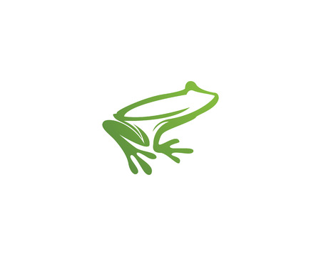 frog animals template  icon and template