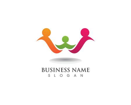 Logotipo y símbolos de la familia de adopción