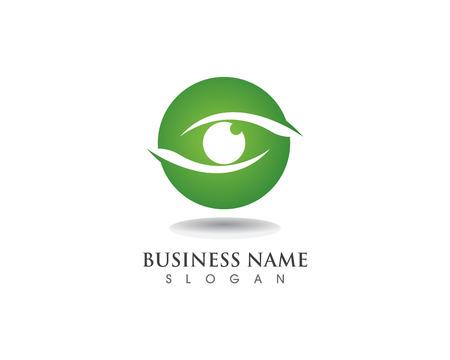 Eye care logo and symbols