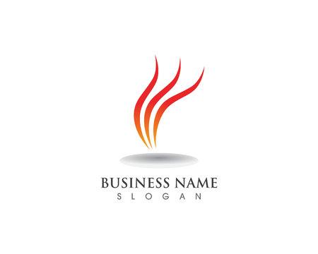 Fire logo and symbol