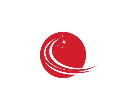 Vettore del modello logo più veloce Logo