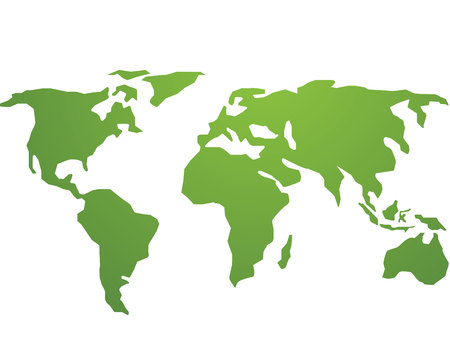 World global green vector 向量圖像