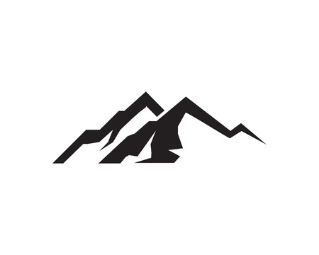 Mountain  Vector logo template Çizim