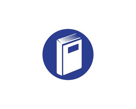 Education Book Logo Template vector illustration design Çizim
