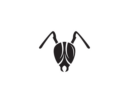 Ant Logo template vector illustration design Ilustracja