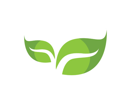 Leaf green leaves icon 向量圖像