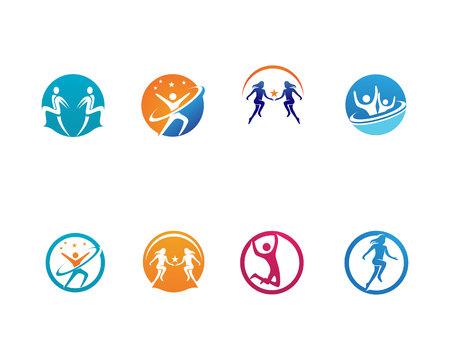 Healthy Life template vector icon Vectores