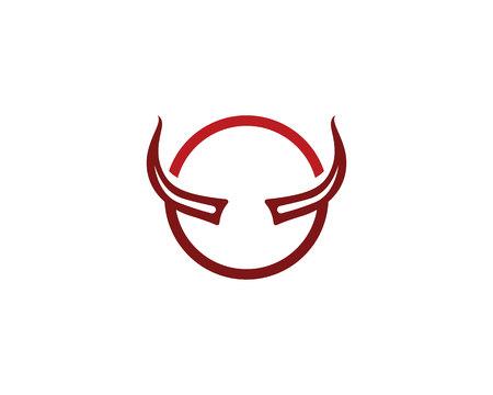 Devil horn Vector icon design illustration