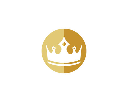 Crown Template vector illustration - Vector
