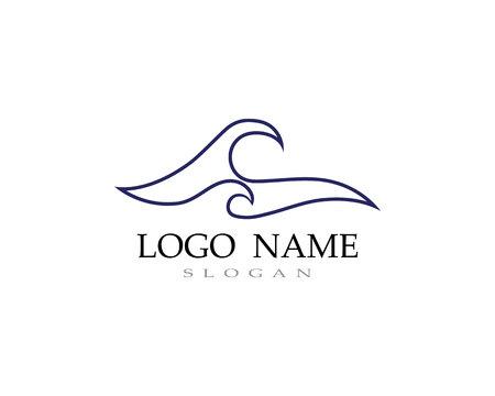 Welle Wasser Logo Strand