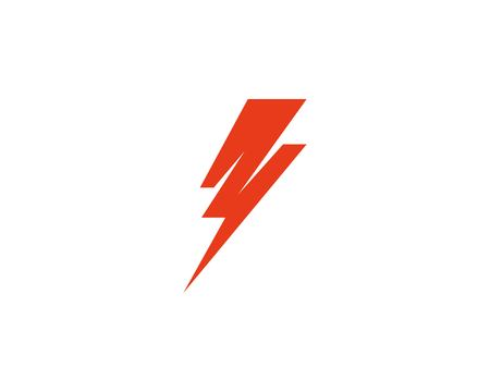 Flash thunderbolt logo template