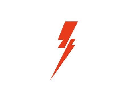 Flash thunderbolt logo template