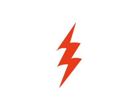Flash thunderbolt logo template 矢量图像