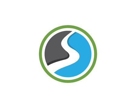 River vector icon illustration design
