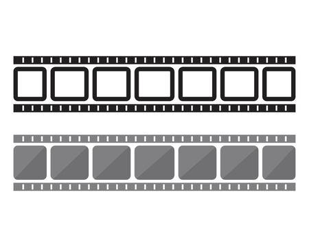 filmstrip vector template illustration design