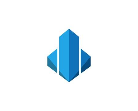 Immobilien, Immobilien und Bau Logo Design Logo