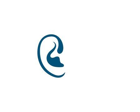 Hearing Template vector icon design Reklamní fotografie - 122831076