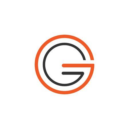 G Letter vector illustration icon Logo Template design