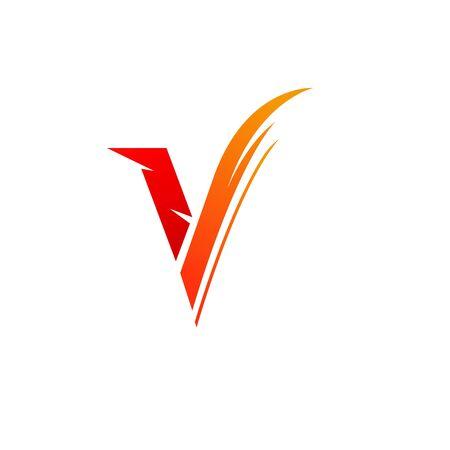 V Logo Images  Stock  Vectors