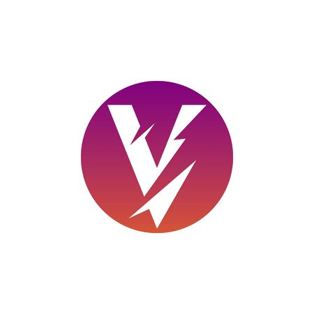 V Logo Images Stock Vectors