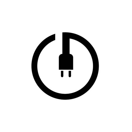 power button icon. Logo element illustration.power button symbol design. colored collection. power button concept. Can be used in web and mobile