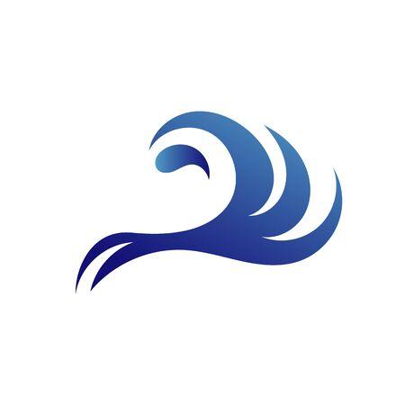 Water Wave Logo Template vector symbol nature Ilustração