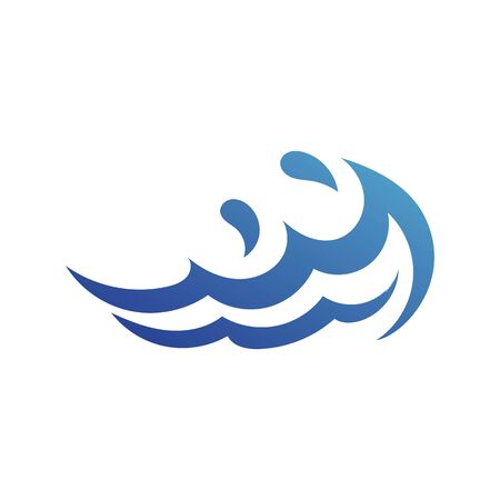 Water Wave Logo Template vector symbol nature Illustration