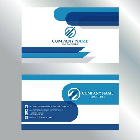 Vector Template Business Card Design