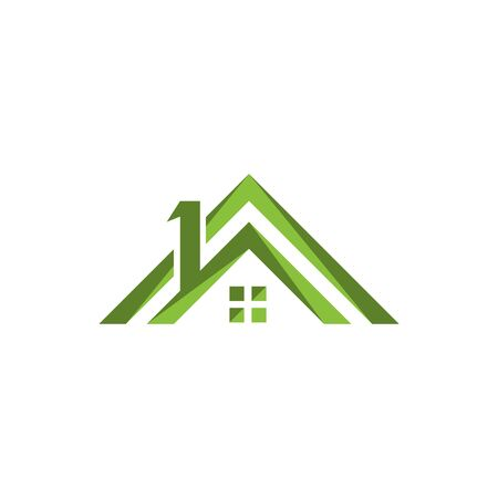 home buildings  and symbols icons template
