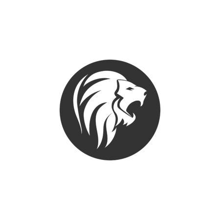 Lion logo vector template Vector
