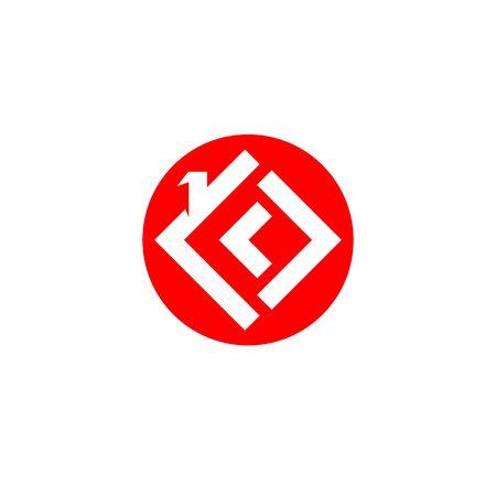 home buildings symbols icons template Ilustracja