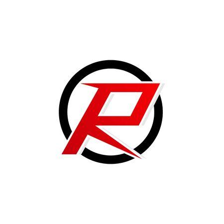 R logo and symbol vector Stock Illustratie