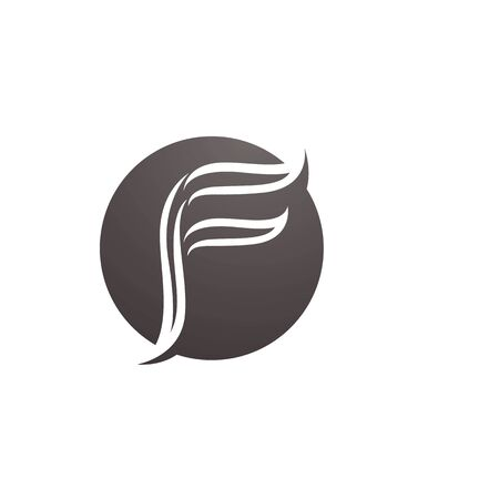 F logo and symbols template vector icons Stock Illustratie