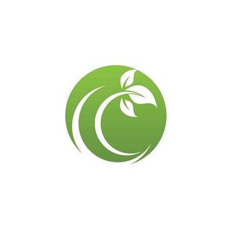 green leaf ecology nature element Banque d'images - 129621983