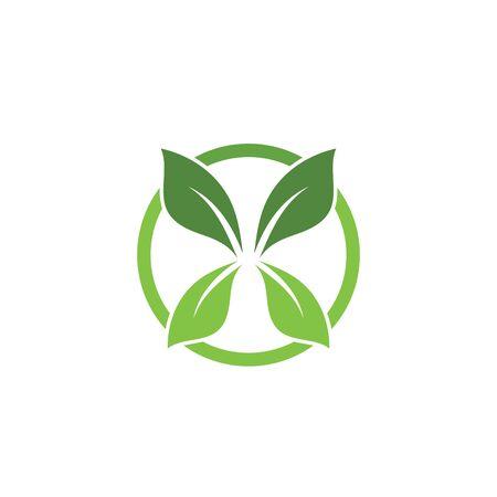 green leaf ecology nature element Banque d'images - 129621989