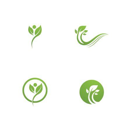 green leaf ecology nature element Banque d'images - 129622100