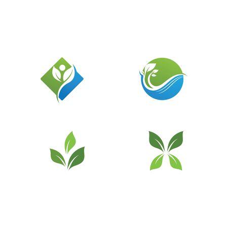 green leaf ecology nature element Banque d'images - 129622101