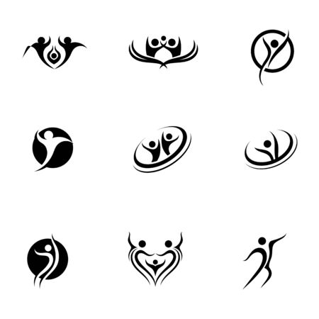 People Icon work group Vector illustration design Illustration