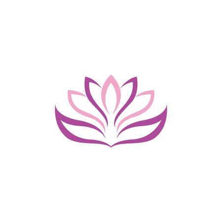 Beauty Vector lotus flowers design logo Template icon Stockfoto - 131442304