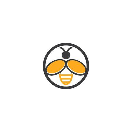 Honeycomb ilustration logo vector template