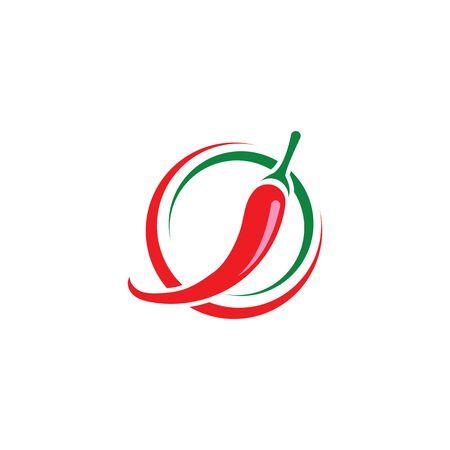 chili-pepper icon. flat illustration of chili-pepper - vector icon. chili-pepper sign symbol